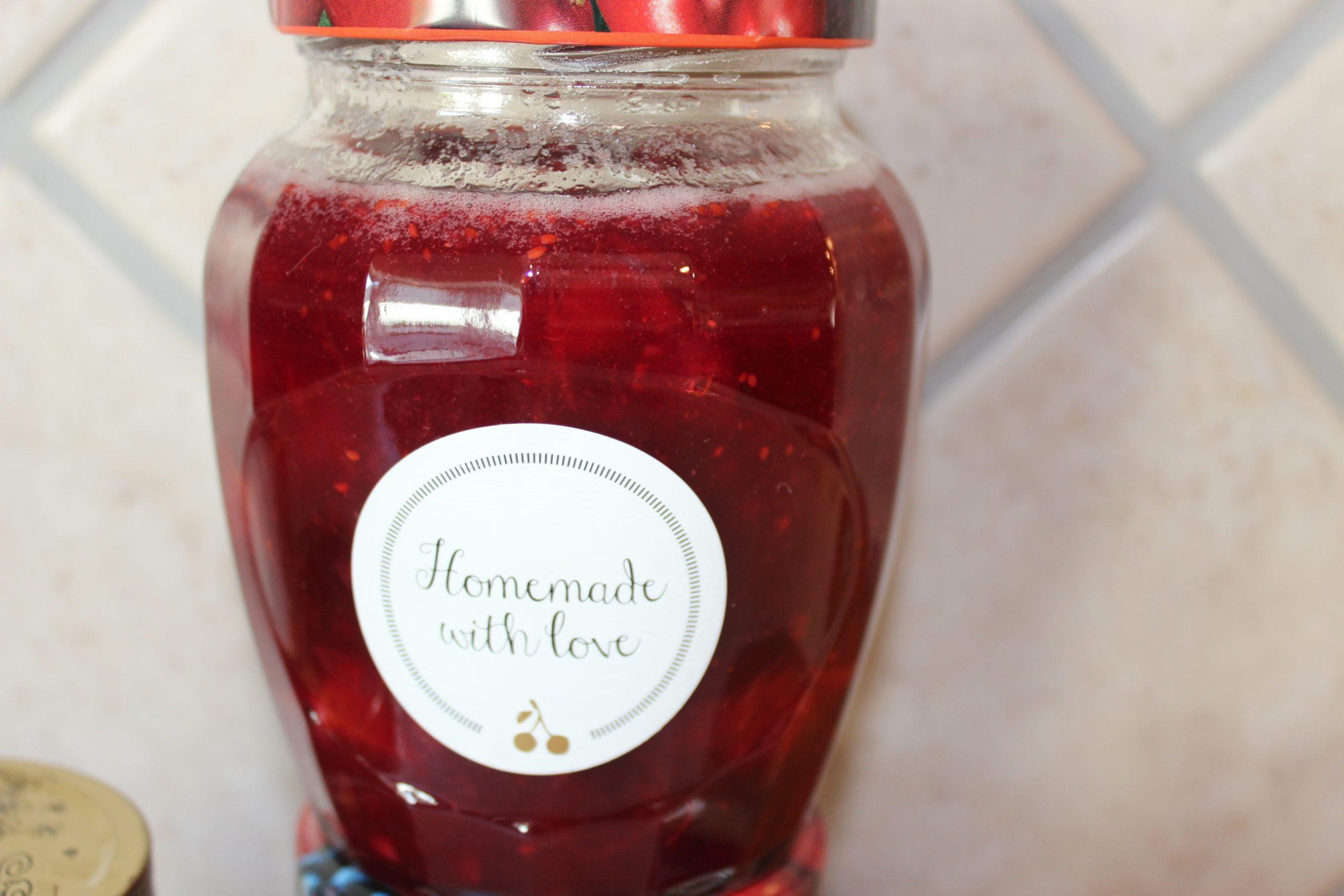 Tranebær-æble marmelade
